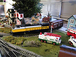 Visit our Christmas Train Displays
